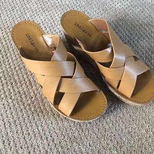Wedge sandals size 7.5
